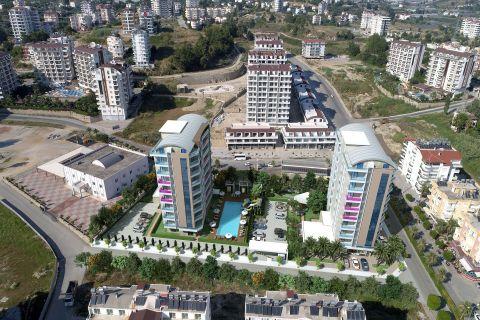 Komplex mit zwei Gebäuden in Avsallar