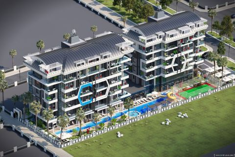 Newly built apartments near the beach in Kargicak