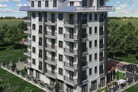 Eleganta lägenheter i ett bekvämt område i Mahmutlar