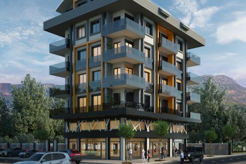 Nya lägenheter i ett trevligt område i Kargicak