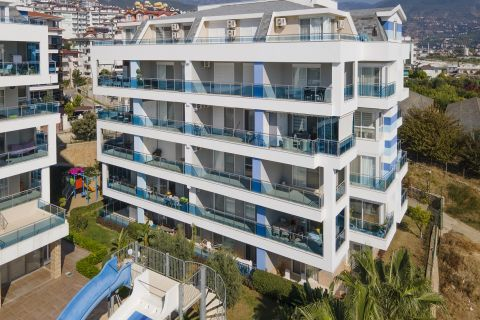 three bedroom apartment for rent in oba, alanya