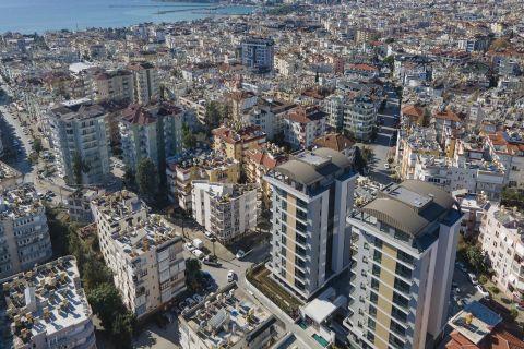 Luxe appartementen nabij het centrum van Alanya Hacet