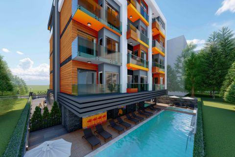 premium residential complex in alanya center