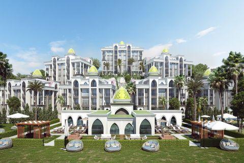 Ultra luxurious Halal complex in Kargicak, Alanya