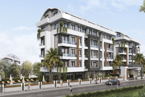 New homes in the peaceful area of Oba, Alanya