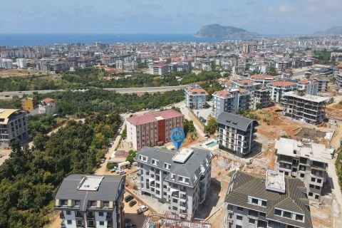 Uniquely designed apartments in Oba with sea view