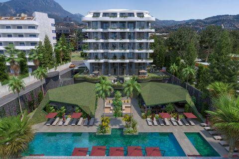 Wunderschöne Apartments mit Meerblick an der Küste in Kargicak
