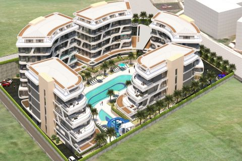 Utopia in Oba with a variety of apartments