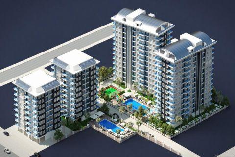 Komplex mit vielen Wohnungsoptionen zum Verkauf in Mahmutlar