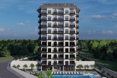 Modern apartments in the cozy resort area of Avsallar, Alanya