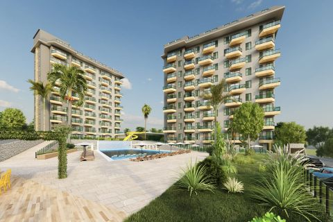 Gorgeous apartments for sale in Avsallar