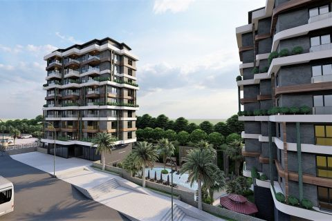 Fabulous apartments in an exotic complex in Avsallar