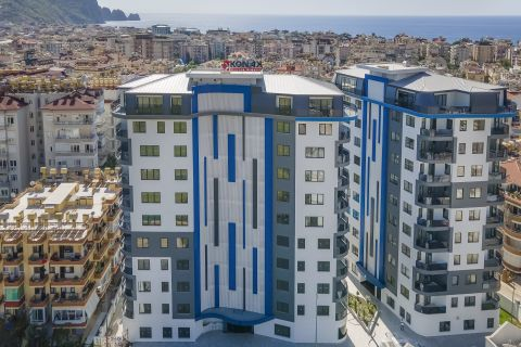 Two-bedroom humble apartment in Alanya city center