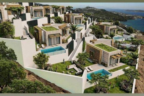 Five-bedroom chic villa project in Yalikavak, Bodrum