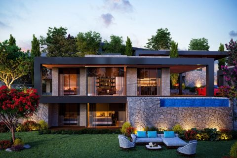 Luxurious sea view villas that offer an exclusive life in Bodrum