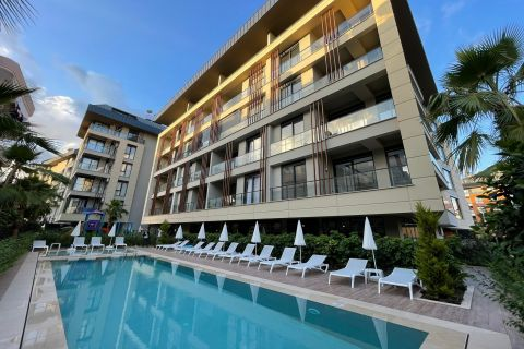 high quality fully furnished one-bedroom apartment for rent in Alanya center