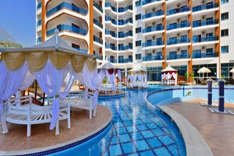 Spacious one-bedroom furnished apartment in a luxurious complex