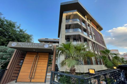 high quality furnished one-bedroom apartment for rent in Alanya center