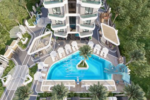 uniquely designed project with gorgeous amenities in Mahmutlar