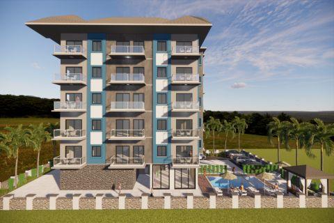 Geräumige und preiswerte Apartments mit einem Schlafzimmer in Avsallar