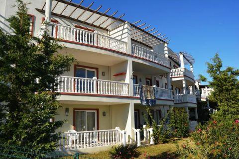 Komplett möbliertes Apartment mit zwei Schlafzimmern in Tuzla, Bodrum