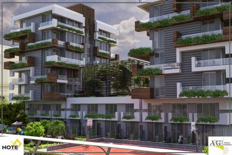 Великолепный жилой комплекс с зеленым массивом в Кепезе