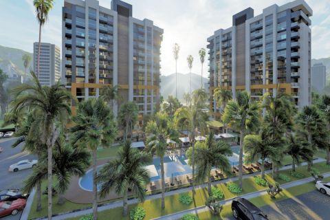Komplex mit verschiedenen Wohnungsoptionen zum Verkauf in der Nähe des Flughafens Antalya, Kepez