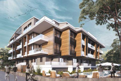 Verschiedene Wohnungsoptionen zum Verkauf in Strandnähe, Sarisu