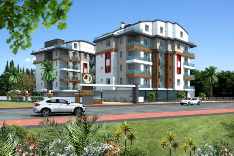 Apartments mit Meer- und Naturblick in Konyaalti
