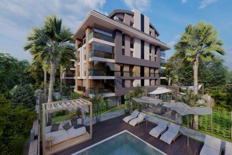 Hochwertige Apartments in Strandnähe in Konyaalti, Antalya