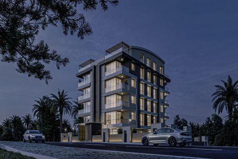 Schöne Apartments in der Nähe vieler sozialer Einrichtungen in Konyaalti, Antalya