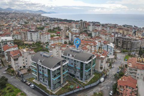 Verschiedene Apartmentoptionen in einem Komplex im Zentrum von Alanya