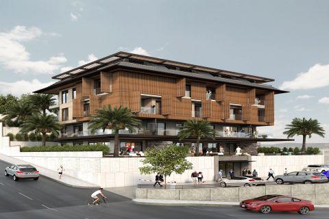 Erstklassige-Wohnungen auf den Hügeln von Alanya mit herrlichem Blick in Hasbahce