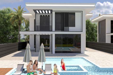 Atemberaubende Villa mit fünf Schlafzimmern in ruhiger Umgebung in Oba