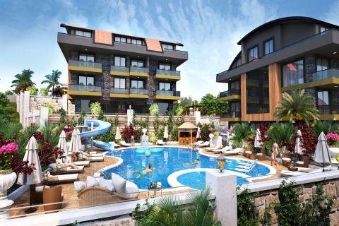 Exquisite apartments for sale in Buyukhasbahce
