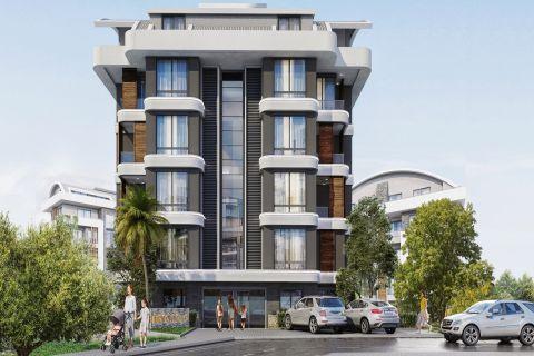 Appartements modernes et abordables à Oba, Alanya