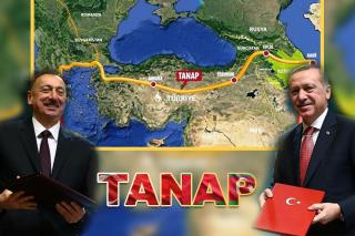 Trans Anatolian Natural Gas Pipeline Project TANAP